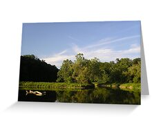 Beebe Lake  Greeting Card