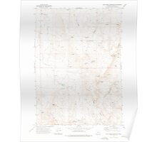 USGS Topo Map Oregon Star Creek Reservoir 281625 1972 24000 Poster