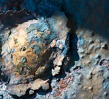 Cracked Metal - Rusty and Falling to Bits #3 by Melanie Simmonds