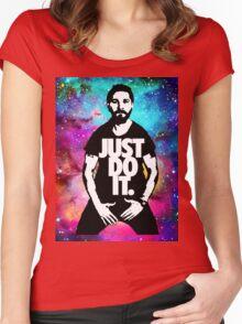 JUST DO IT!!! NEBULA GALAXY II Women's Fitted Scoop T-Shirt