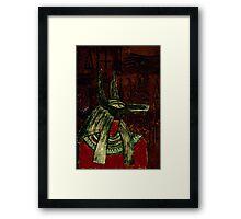 Anubis Framed Print