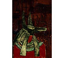 Anubis Photographic Print