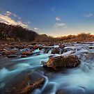 Twilight River Stroll by Rob  Southey