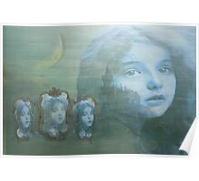 Moonlit Reflection Poster