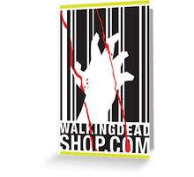 Walking Dead Shop Greeting Card
