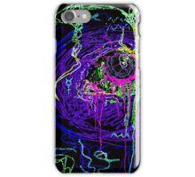Trippy acid eye iPhone Case/Skin