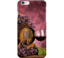 Red wine iPhone Case/Skin