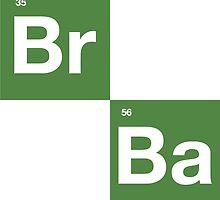 Breaking Bad - BrBa Logo by seriesclothing