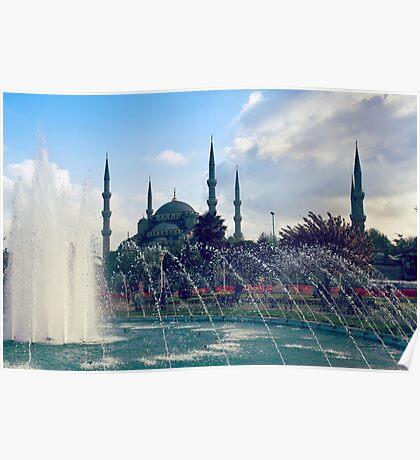 Sultanahmet's Shower - Istanbul, Turkey Poster