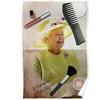 Portrait of Queen Elizabeth II Poster