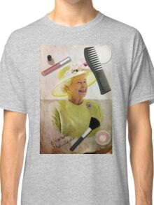 Portrait of Queen Elizabeth II Classic T-Shirt