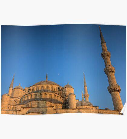 Sultanahmet Moon  - Istanbul, Turkey Poster