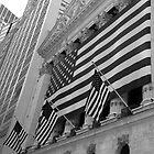 Patriotic - Stock Exchange, New York by Ben Prewett