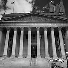 Black and White Justice - New York Supreme Court of Justice, New York by Ben Prewett