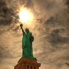 Torch Of Liberty - Staue of Liberty, New York by Ben Prewett