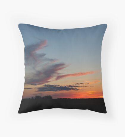 Straight on 'till Morning Throw Pillow