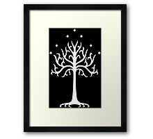 Lord of the Rings - White Tree of Gondor Framed Print