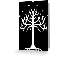 Lord of the Rings - White Tree of Gondor Greeting Card