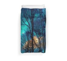 emerald teal sky Duvet Cover