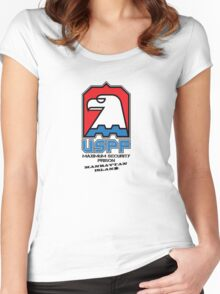 USPF Women's Fitted Scoop T-Shirt