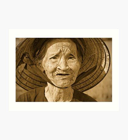 Vintage Vietnam Art Print