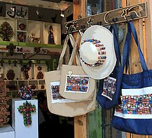 Bags & hat by Shirley  Poll