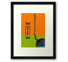 Open Mind Framed Print