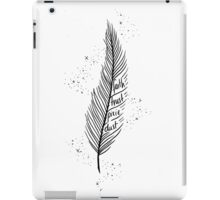 Faith, Trust, Pixie Dust iPad Case/Skin