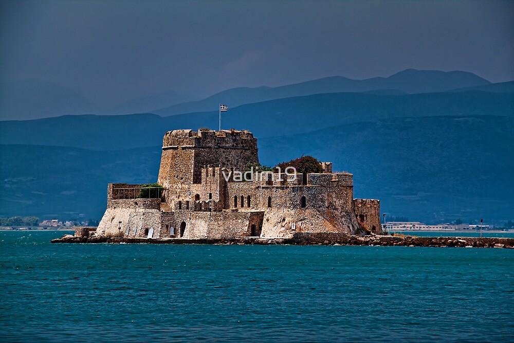 Greece. Nafplio. The castle of Bourtzi. by vadim19