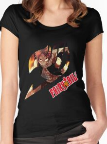 Natsu Dragneel  Women's Fitted Scoop T-Shirt