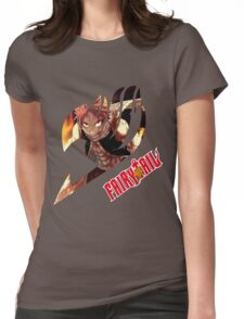 Natsu Dragneel  Womens Fitted T-Shirt