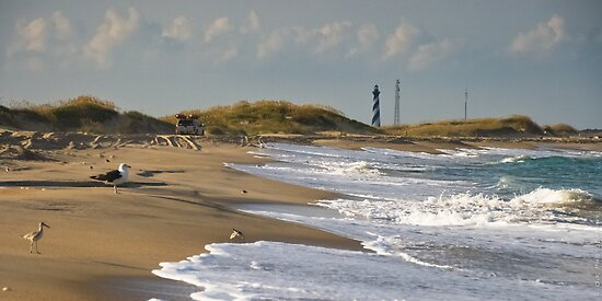 Cape Hatteras Beach by Oliver Kershaw