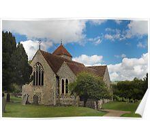 Godmersham Church Poster
