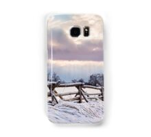 Road to Salem - Winter Landscape Samsung Galaxy Case/Skin