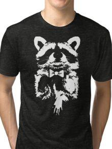 Classy Raccoon Tri-blend T-Shirt