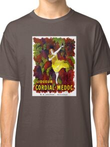Liquer Cordial-Medoc Vintage Poster Restored Classic T-Shirt