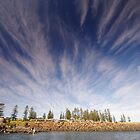 Kiama Clouds by Linda Fury