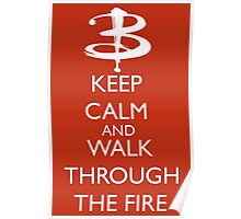 Walk through the fire Poster