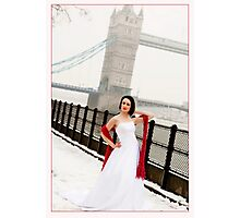 By Tower Bridge Photographic Print