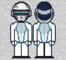 Daft Punk Derezzed One Piece - Short Sleeve