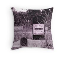 Usula High  Throw Pillow