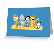The Peanuts of Oz Greeting Card