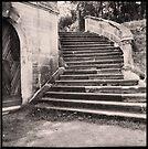 Staircase, Belgium, 1989  by Barbara Wyeth