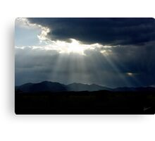 Before the Storm ~ Sierra Co, New Mexico Canvas Print