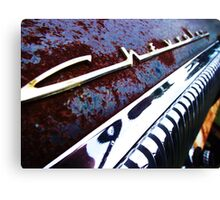 Chevrolet dash Canvas Print