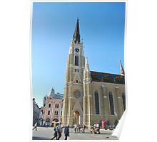 Cathedral Novi Sad Poster