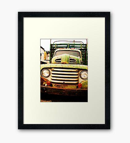 BIG FORD Framed Print