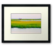 Sea Praries Framed Print