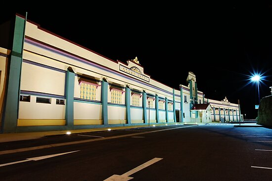 Newcastle Baths Building Winter 2011  by Park Lane  Photography