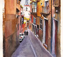 Toledo Alley by Dai Wynn